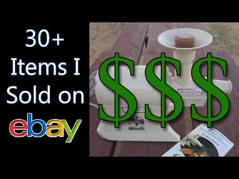 WHAT SOLD ON EBAY - Catch Up Series Feb 2018 - Fulltime Family RV - Dorky Thrifters