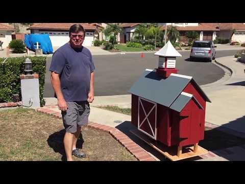 Part 1 Of 2 - Custom Barn Owl House Build #1 Bonnie & Clyde