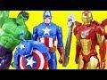 Download           Marvel Avengers Titan Hero Series Blast Gear Iron Man Stops Thanos | Hulk & Captain America Toys MP3,3GP,MP4