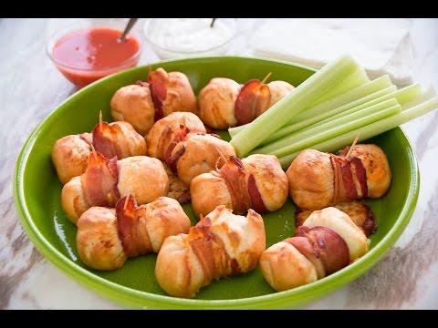 Bacon Buffalo Chicken Bites