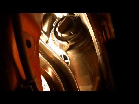 Replacing Front Turn Signal Light (Bulb) Hyundai Sonata
