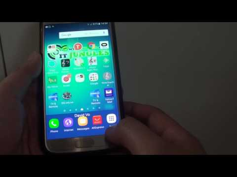 Samsung Galaxy S7: How to Add / Remove Samsung Account