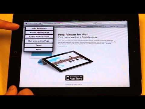 iPad- Tips- Bookmark