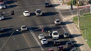 Biker Fights Off Carjacker