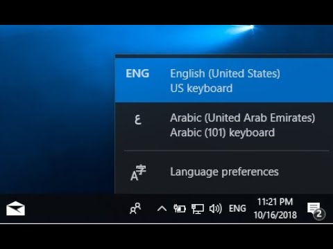 How to Bring Back the Language Bar on Windows 10