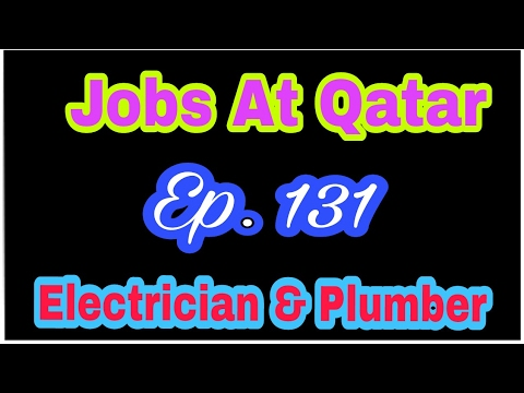 Abroad Jobs Of Electrician and Plumber At Qatar Country 2017, Tips In Hindi