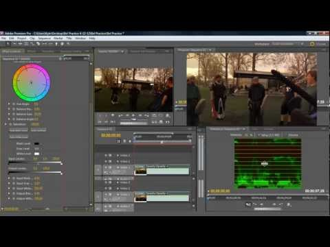 How to Color Correct in Premiere Pro CS5 tutorial