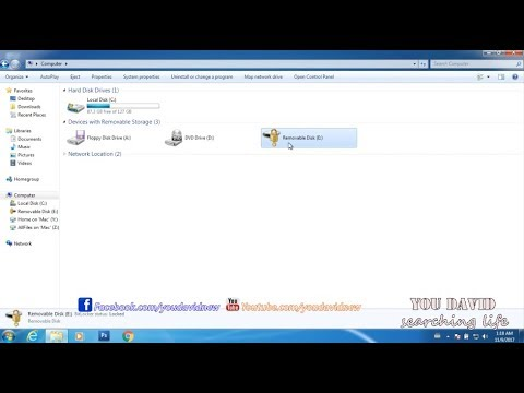 How to Remove Password USB Flash  Drive On Windows 7 , 8 ,8.1