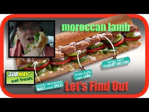 Subway Moroccan Lamb | Taste Test