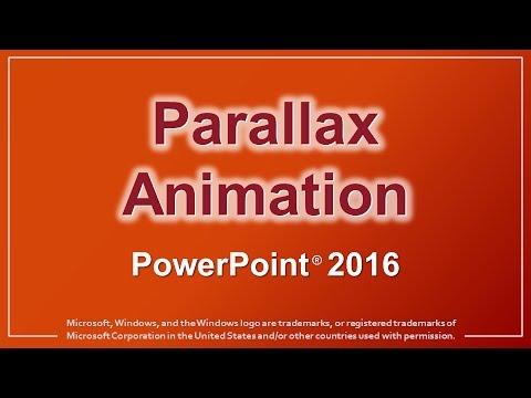 Parallax Animation PowerPoint 2016