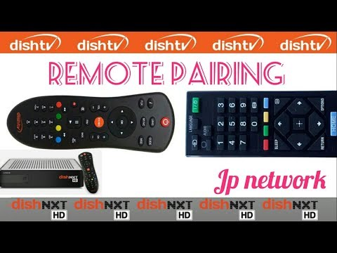 Steps To Pair DishTv Universal Remote With Your TV