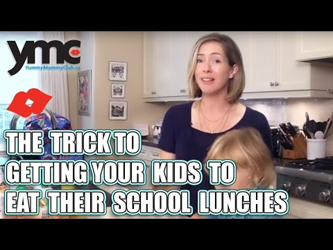 The Trick to Getting Your Kids to Eat Their School Lunches