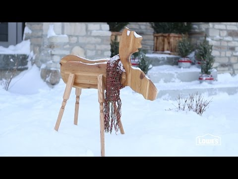 How To Create A Wooden Moose