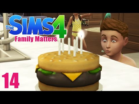 BIRTHDAY PARTY! - Sims 4 - The Sims 4 Family Matters Ep.14