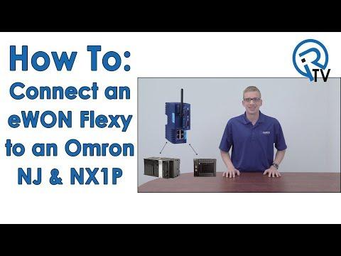 Connect an eWON Flexy to an Omron NJ & NX1P
