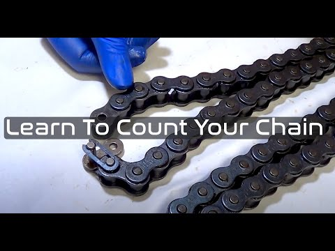 How to Count Motorcycle Chain Length for Honda CB350  CB360  CB450