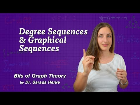 Graph Theory: 42. Degree Sequences and Graphical Sequences