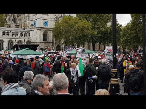 Palestinian Protest the Balfour Declaration's 100th Anniversary