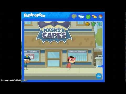 Poptropica Super Power Part 1