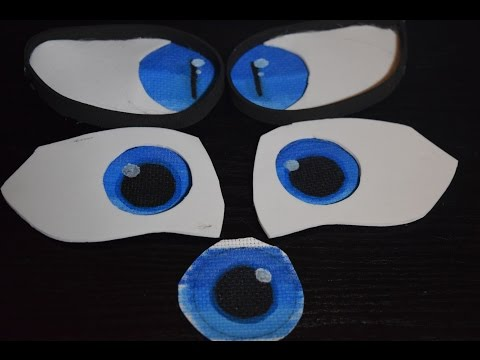 How to: Make Toony Fursuit Eyes!!