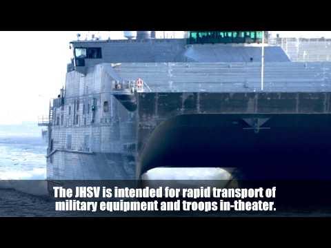 Joint High Speed Vessel (JHSV) - Spearhead Class