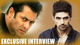 """Sharing space with Salman Khan is like..."": Saqib Saleem | Race 3"