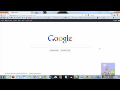 Google Gravity Easter Egg