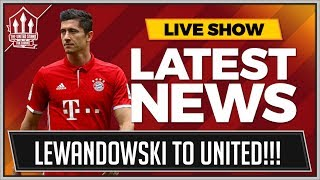 LEWANDOWSKI To MAN UNITED! Manchester United Transfer News