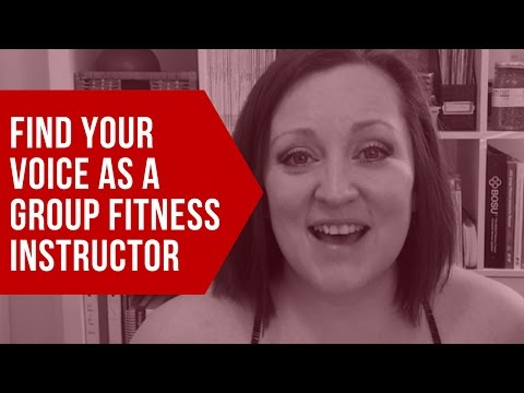 Find your voice as a Group Fitness instructor