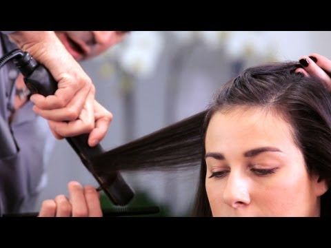 How to Curl Long Hair with a Flat Iron | Long Hairstyles