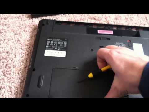 How to reset bios password on Acer Aspire 5742 PEW71 laptop
