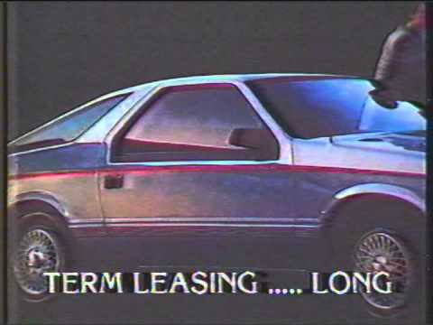 1984 Montreal Plymouth Chrysler Commercial