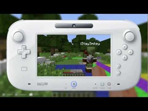 Wii U Minecraft Trailer