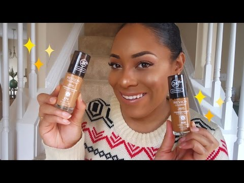 Foundation Review Friday: Revlon Colorstay | WOC Friendly