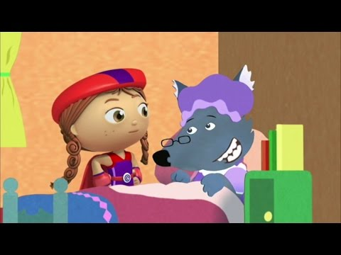 Super WHY! Full Episodes English ✳️  Little Red Riding Hood ✳️  S01E17 (HD)