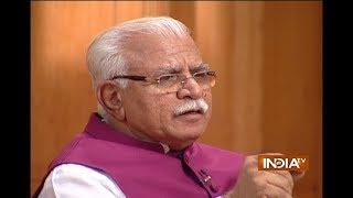 Aap Ki Adalat: Gurmeet Ram Rahim Singh supported us in 2014 elections, says CM ML Khattar