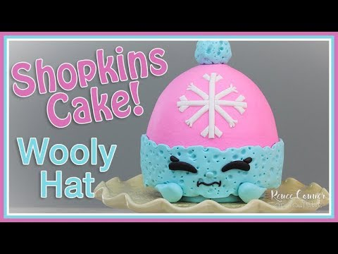 Shopkins Wooly Hat Cake | Renee Conner