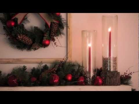 Holiday Decorating Ideas to Create Artistic Displays Using Candle Holders | Pottery Barn