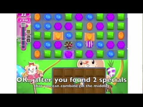 Candy Crush - HOW TO DO level 73 step by step