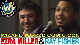 Ezra Miller and Ray Fisher panel at Wizard World Portland 2018 (Full panel)