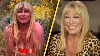 Suzanne Somers to Nude Photo Haters: 'Too Darn Bad'