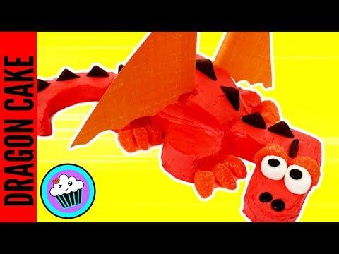 AMAZING DRAGON Birthday CAKE | Pinch of Luck