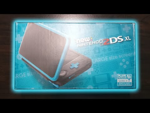 New Nintendo 2DS XL - Unboxing, Setup, And Overview