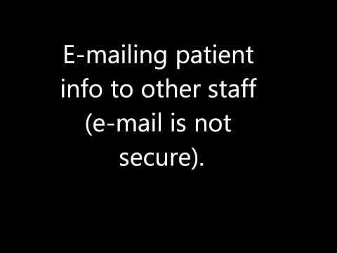 Examples of Breach of Patient's Privacy
