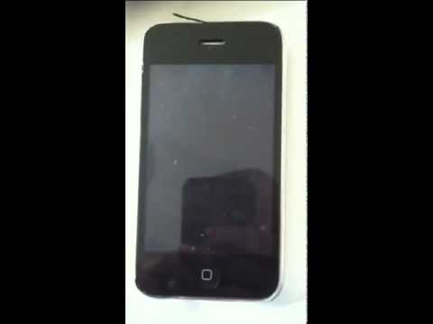 White screen on a Iphone 3gs