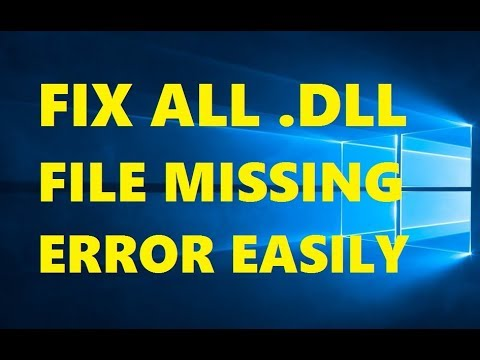 How To Fix All .DLL File Missing Error in Windows 10 | Without Any Software