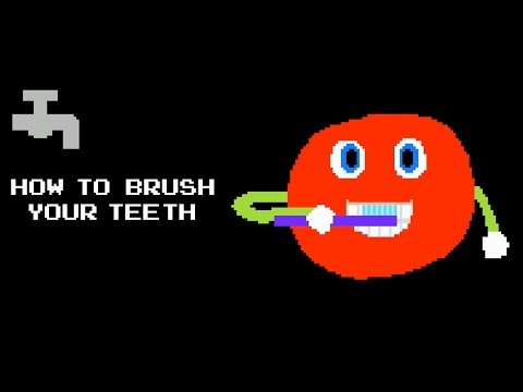 How to Brush Your Teeth - Two Minutes  - The Kids' Picture Show (Fun & Educational Learning Video)