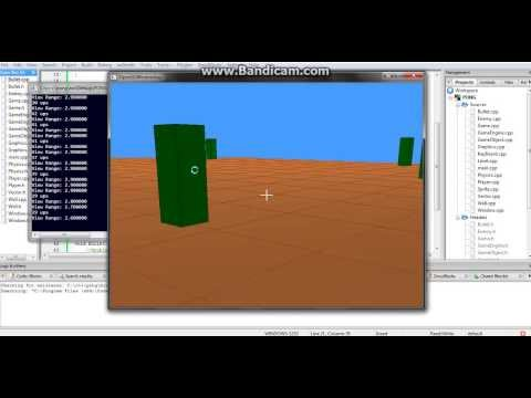 3D Shooter Game c++