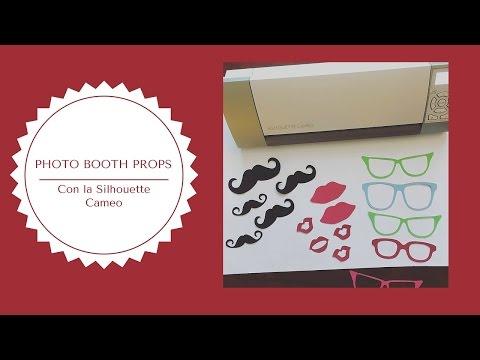 Photo Booth Props con la Silhouette Cameo