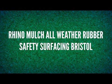 Rhino Mulch All Weather Rubber Safety Surfacing Bristol